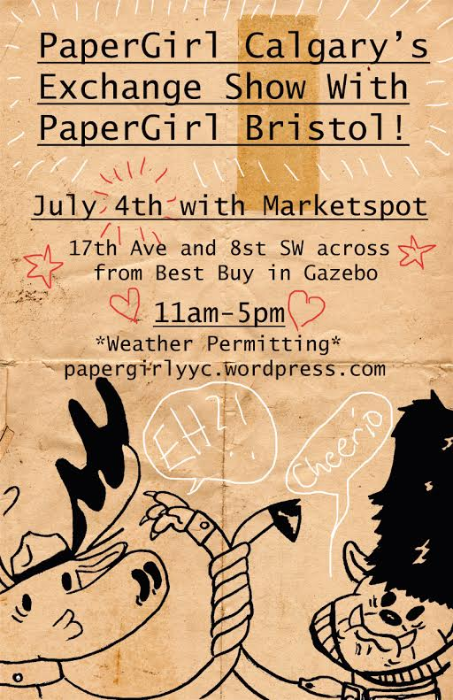 2015 Papergirl YYC Exhibition